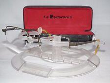l.a. Eyeworks Titanium One Pair Baker 836 RX Eyeglasses Frames LA