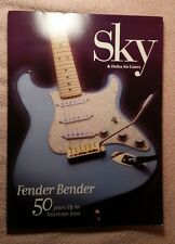Delta SKY Magazine - August 1996 - Fender Guitar, Paralympic Games