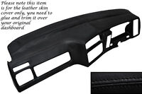 BLACK STITCH DASH DASHBOARD COVER FITS FORD SIERRA MK2 RS COSWORTH SAPPHIRE 4x4