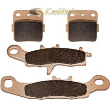 FRONT & REAR BRAKE PADS FITS KAWASAKI KX100 1997-2014 SINTERED PADS