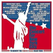 The Concert for New York City 2 CD SET david bowie BON JOVI paul mccartney