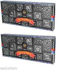 Super Hit Incense Sticks 2 x 100 Gram Boxes = 200 Grams Nag Champa Satya SaiBaba