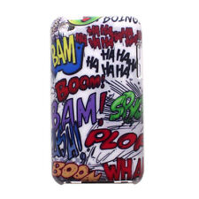 Graffiti Haha Bam Boom Pattern Design Hard Case Cover for iPod Touch 4 4th Gen