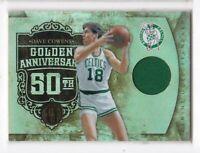2011 Dave Cowens #/125 Jersey Panini Gold Standard Celtics Golden Anniversary