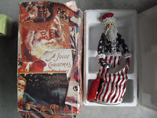 "Rare 1983 Duncan Royale History of Santa Civil War Figurine in Box 12"" Tall"