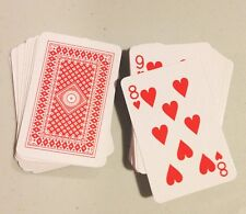 "Lot of 12 Full Decks mini miniature 2"" small poker game Playing Cards FREE SHIP!"
