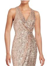 NWT Badgley Mischka Evening Gown 12 HI SEQUIN $369 MOTHER BRIDE Formal Summer