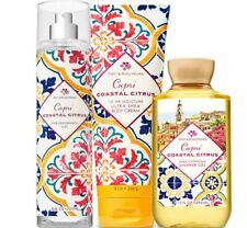 Bath & Body Works Capri Coastal Citrus Trilogy Set