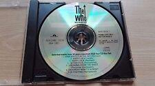 THE WHO – ''MAXIMUM R&B'' – PROMO CD