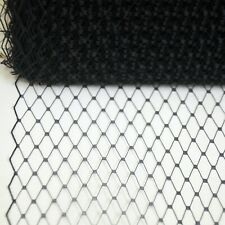 "9/"" Hat Veiling Birdcage Netting Nude Beige By the Yard Net V-1"