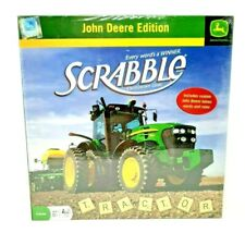 John Deere Edition Of Scrabble, Crossword Game Ages 8+ / 2-4 Players - New
