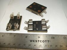 LOT OF VINTAGE DUAL STANDARD SIZE BUSS FUSE BLOCK/HOLDERS A