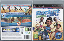 RACKET SPORTS PS3 NUOVO, SIGILLATO, EDIZIONE ITALIANA RICHIEDE PLAYSTATION MOVE