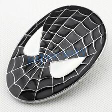 Black Spider Man Trim Auto Car Trunk Emblem Badge Metal Sticker Accessories Part
