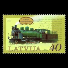 Latvia 2010 - History of Latvia Railway Locomotive RP Train - Sc 766 MNH