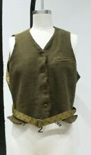 MAX MARA Made in Italy virgin wool button front gilet sleeveless vest size 14