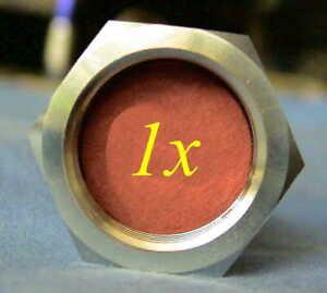 Dräger Safety V05475 Flaschenverschluss Verschlussmutter Gewindeschutz Seal Nut