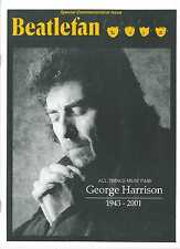Six Magazine Issues Commemorating George Harrison