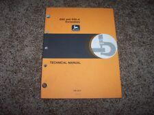 John Deere 690 690A 690 A Excavator Technical Repair Service Shop Manual TM1017