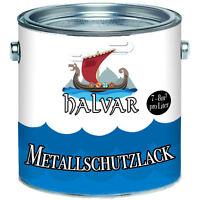 Halvar Metallschutzfarbe Grau Kunstharzlack 2,5L 5L 10L RAL 7030 Steingrau