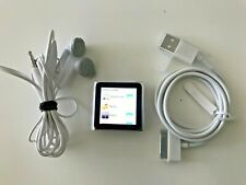 APPLE IPOD NANO 6TH GENERATION 8GB MODEL - SILVER