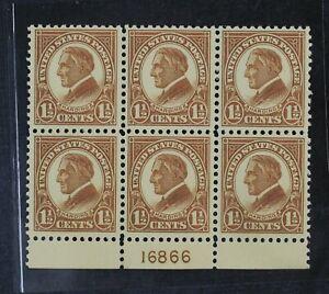 CKStamps: US Stamps Collection Scott#553 Block Mint NH OG