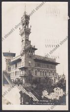GENOVA CITTÀ 735 Cartolina FOTOGRAFICA viaggiata 1920 - Foto J. NEER 139
