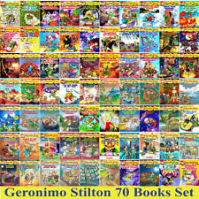 Geronimo Stilton Series Books Set Collection - 70 Brand New Gift Paperbacks Set