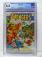 Avengers 95 - Origin Of Black Bolt and Maximus 1972 - CGC Graded 8.0