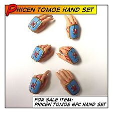 PHICEN Hot Tomoe Female Hand Set 6pc fit 1/6 12 in scale Figure Body Toys