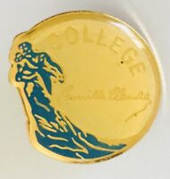College Ballroom Dancing Advertising Pin Badge Vintage (C18)
