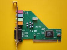 PCI Soundkarte 4 Kanal 5.1 Dolby Digital Surround Audio mit Gameport