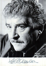 More details for actor peter adamson early hand signed promo photograph 5 x 3.5