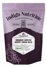 Indigo Herbs Organic Brown Rice 1kg Short Grain