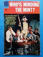RARE Who's Minding The Mint? #1 1967 Dell Comics Walter Brennan Jim Hutton Berle