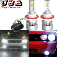 High Beam H7 50/% Xenon headlight Bulbs BMW 3 Series E46 Convertible 2000-2007