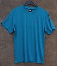 Mountain Equipment Groundup Tee Hombre,Camiseta de Camisa Funcional,Tasman Blue