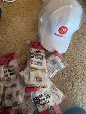 McDONALDS Big Mac Socks And Mcdelivery Hats