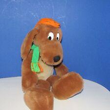 """Dr. Seuss  Plush kohls cares for kids Go dog Go orange hat  green scarf 17"""""""