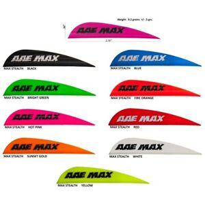 "2 Dozen AAE Arizona Archery Enterprises Z Nocks 5//16/"" White"