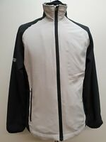 MENS GLENMUIR GREY BLACK ZIP POCKETS LIGHT WEIGHT GOLF JACKET UK S EU 46