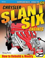 Plymouth Dodge Chrysler Slant Six Engines Rebuild Modify Service Manual Book