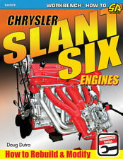Plymouth Dodge Chrysler Slant Six Engines Rebuild Modify Service Manual Book