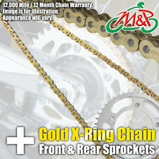 Honda CBR600 FX FY 1999 Gold XRing Chain and Sprocket Kit