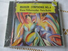 Mahler - Symphonie No.6 - Wiener Philharmoniker - Pierre Boulez - CD Neu & OVP