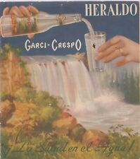 GARCI-CRESPO MEXICAN GINGER ALE AND MINERAL WATER VINTAGE BROCHURE