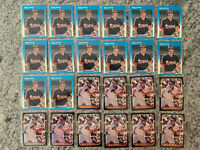 Wally Joyner 93 Card Lot Includes Rookie Card RC Fleer 86 Topps 80 Donruss 135