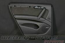 >Audi Q7 4L Türverkleidung Alcantara Tür Verkleidung hinten links Schwarz BOSE<