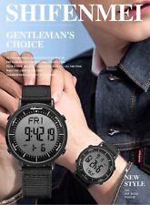 Digital Watch Men Fashion Waterproof Sports Led Digital Alarm Clock