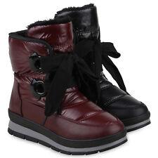 Damen Stiefeletten Winter Boots Warm Gefütterte Outdoor 824873 Schuhe